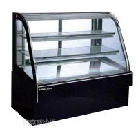 DH-1500黑色大理石单弧蛋糕柜