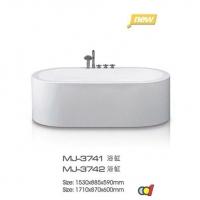 成都蒙娜丽莎洁具 蒙娜丽莎浴缸MJ-3741