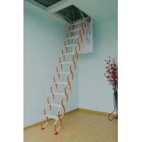 家用阁楼折叠梯别墅楼梯。青岛电动伸缩楼梯