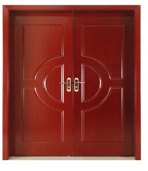 强化双开木门复合烤漆门
