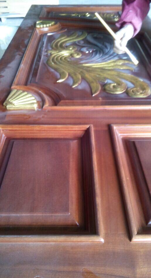 橡木雕花门广东室内房门