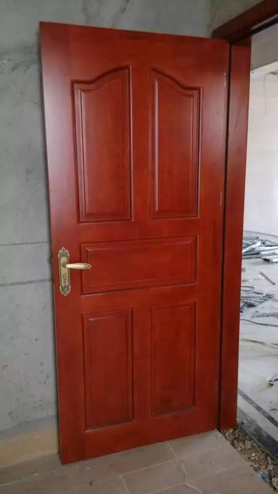 广东木门厂红海豚橡木工程门橡木工艺雕花门