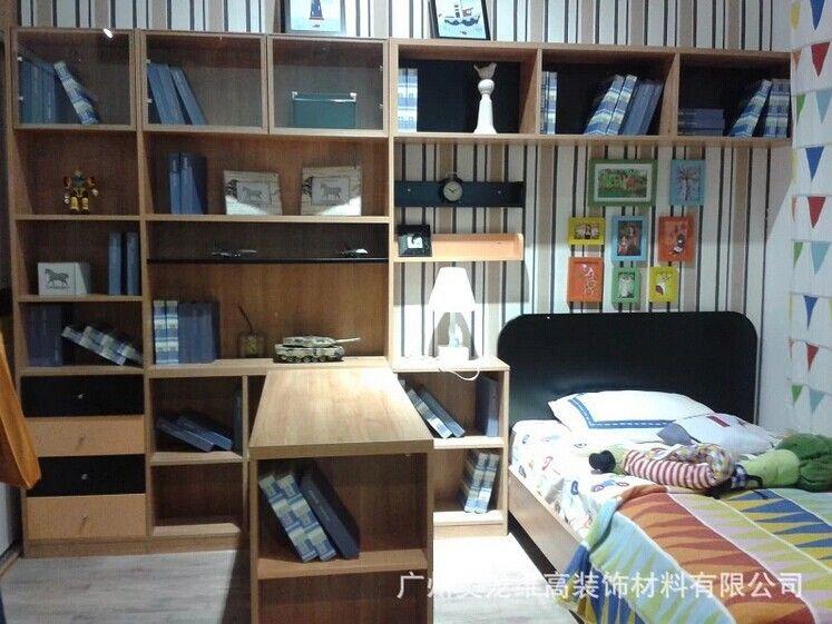 书柜/古典实木板式书柜/书柜整体衣柜