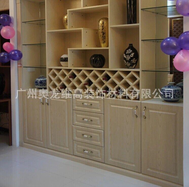 酒柜/法式古典酒柜/香木板材料