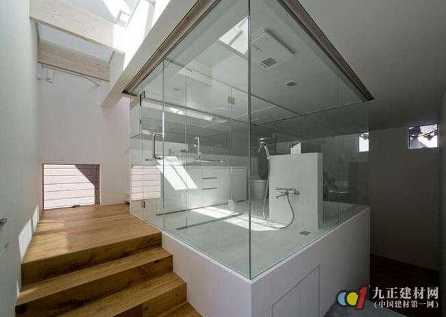 浴室玻璃窗