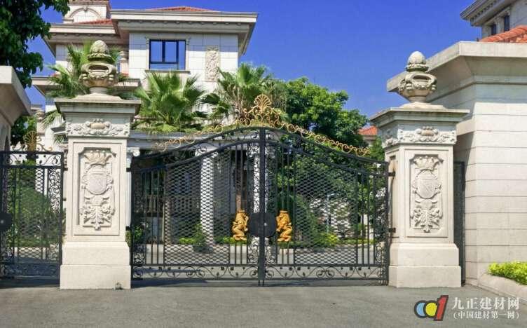 别墅大门尺寸多少合适 别墅庭院大门风水布局注意事项