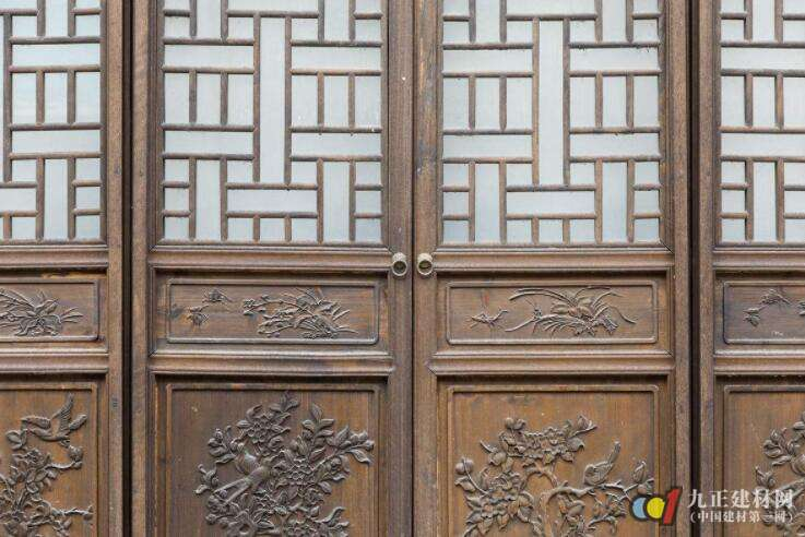 中式木门窗