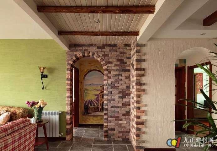 室内拱形门洞