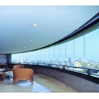 上海全景无框阳台窗-效果图
