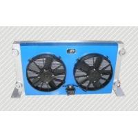 24V双电子风扇液压油散热器
