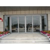 玻璃门安装 北京安装电动玻璃门