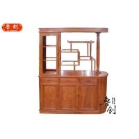 中国红木家具十大品牌/古典红木家具/鲁创红木/餐厅酒柜