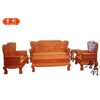 东阳红木家具 沙发缅甸花梨沙发 国色天香沙发十件套