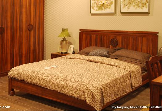 会所会馆中式仿古家具、屏风博古架书柜床头柜中式实木