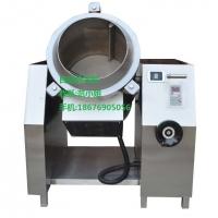 方宁全自动电磁炒茶机 全自动智能炒茶机 滚筒式炒茶机 360