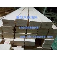 重型木屋墙体_重型木屋胶合木墙体_重型木屋墙体设计安装
