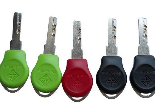 并且智能钥匙内部的芯片无法复制;BOMA博玛数码锁芯旋钮部分有一