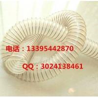 提供德润优质卫生级pu钢丝软管/pu丝伸缩管食品卫生级软管特