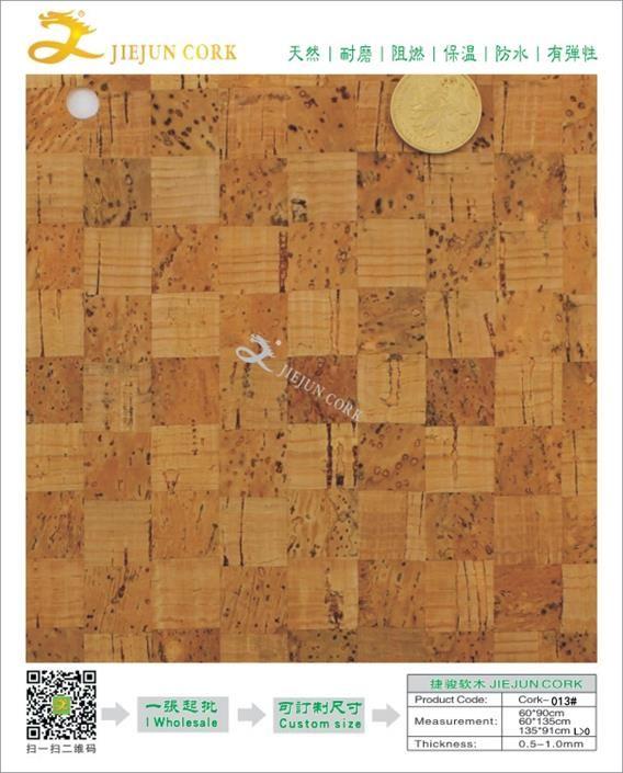 捷骏供应 东莞 软木纸 013#软木隔热垫软木餐垫 隔热耐磨