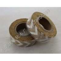 供应软木胶带 背胶自粘软木水松皮带彩色印刷软木卷