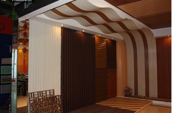门头外墙装饰铝合金长城板 木纹长城铝单板