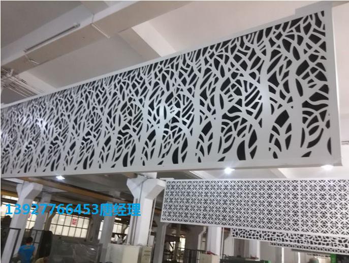 墙面雕花铝单板 雕花铝单板门头