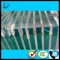 高端进口22mm 25mm 超厚钢化玻璃