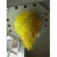 奢华现代大堂艺术玻璃吊灯