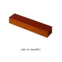 华蓉陶瓷-烧结砖-红砖200X40X30mm有孔