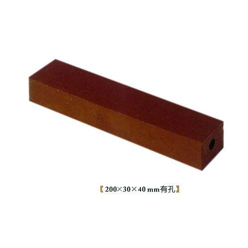 华蓉陶瓷-烧结砖-棕色砖200X30X40mm有孔