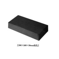 华蓉陶瓷-园林砖-青砖200X100X30mm有孔