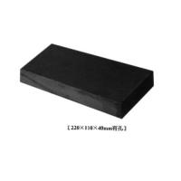 华蓉陶瓷-园林砖-青砖220X110X40mm有孔