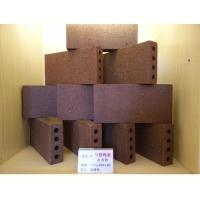 华蓉陶瓷-拉毛砖  咖啡色115x230x40