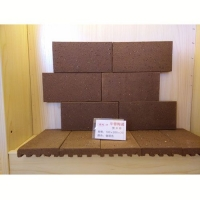 华蓉陶瓷-劈开砖 咖啡色100x200x20