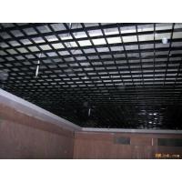 昆山室内天花板专业铝格栅 铝方通吊顶