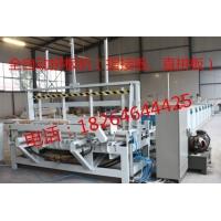 山东木材自动冷压拼板机自动化生产线