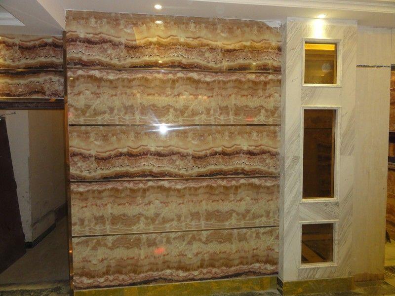 UV板电视背景墙科技石材高清图片