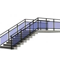 优质家居锌钢楼梯扶手价格_楼梯厂家