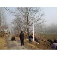 湖南娄底led太阳能路灯工程承包、路灯灯杆、灯头、预埋件