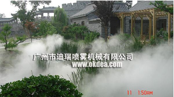 景观畅销人造雾喷雾系统 降温人造雾系统 造景喷雾降温加湿系统