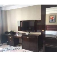 武汉酒店家具定做,电视柜及背景,床头柜,床头及背景