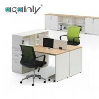 广鸿家具B 2人工作位屏风办公桌办公室创意现代板式实木