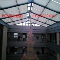 北京定做阳光房天棚帘户外天幕遮阳篷 维修电动天棚帘