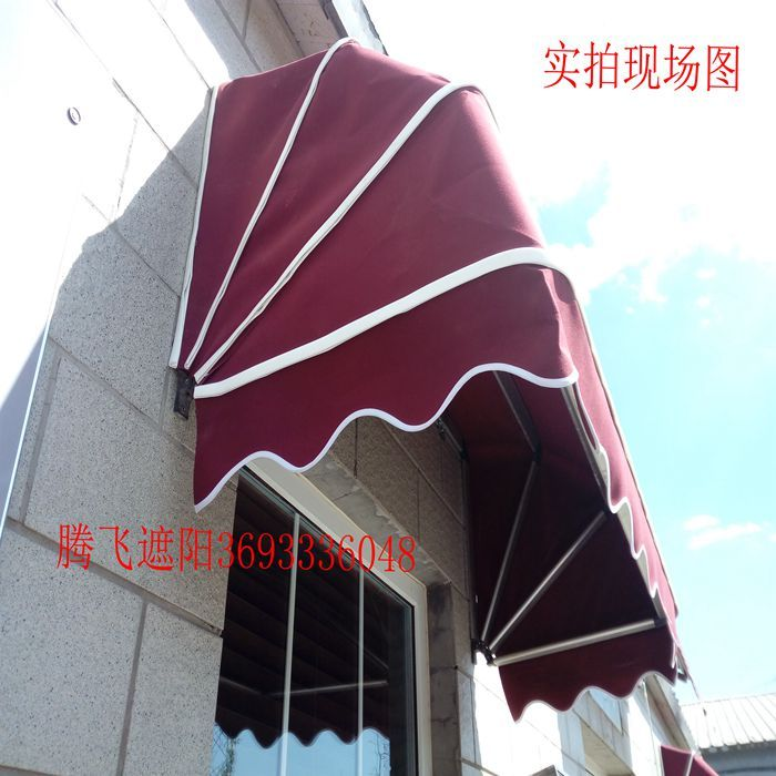 阳光房遮阳棚户外遮阳棚雨棚电动户外遮阳篷