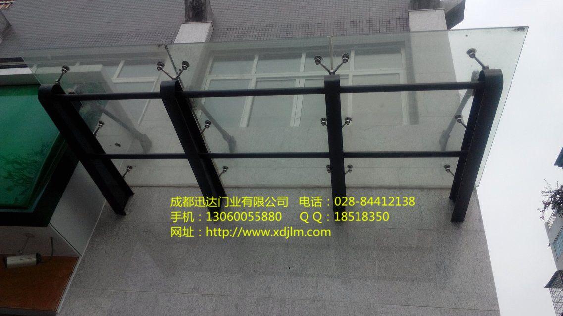 玻璃雨棚/�p��Y��/雨棚安�b/迅√�_�T�I玻璃雨棚