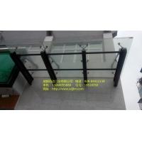 玻璃雨棚/轻钢结构/雨棚安装/迅达门业玻璃雨棚
