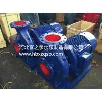 卧式管道泵isw80-250增压泵锅炉泵