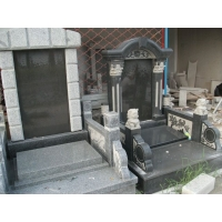 石材墓碑 青石墓碑 墓群加工制作