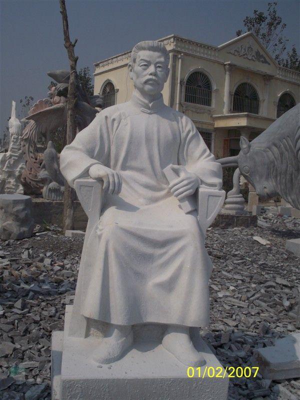 大型孔子雕像已出口日本足利市和泗水町图片