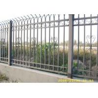 锌钢铁艺围墙栏杆 惠州围墙护栏